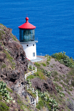 Makapuu Point old lighthouse