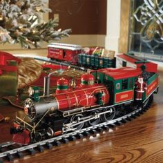 Christmas present Train set