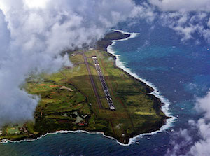 Approaching Lihue Airport