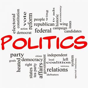Politics, the game of Life