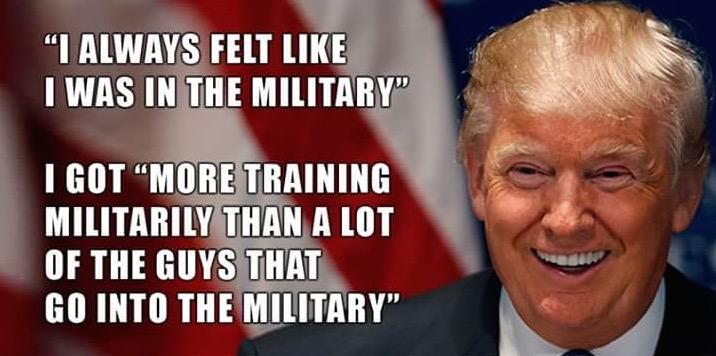 Trump and Cowardice.