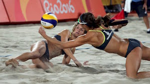 Women's Beach Volley Ball Olympics 2016