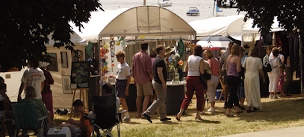 Art in the Park, Lake Geneva, WI, August 14