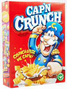 It's only Captain Crunch