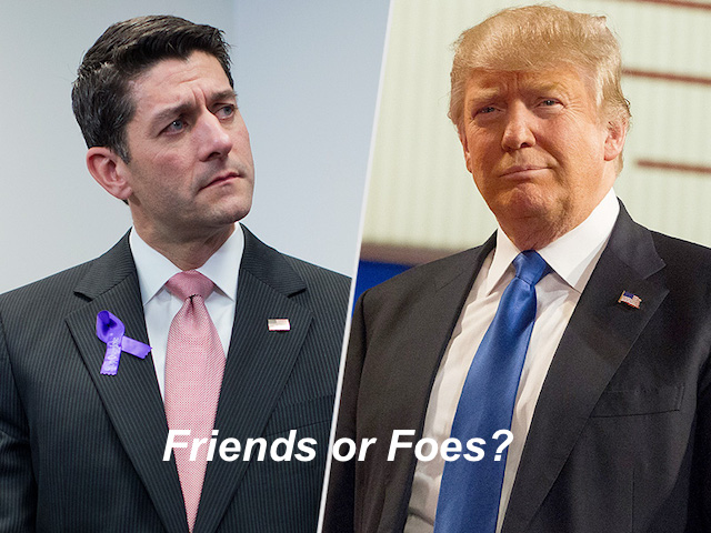 Paul Ryan Donald Trump