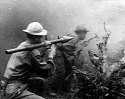 North Vietnamese using Russian PPG in Vietnam War
