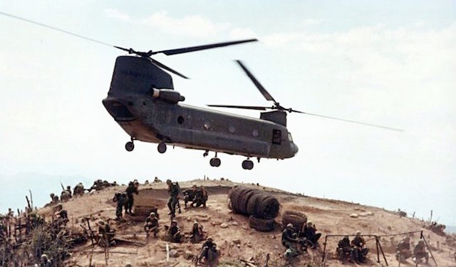 CH-24 Helicopter during Vietnam War