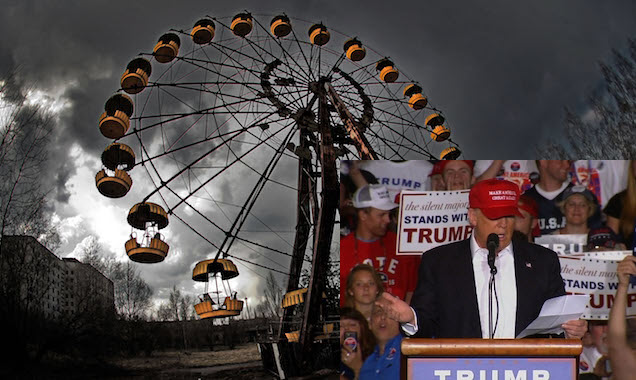 TRUMP OF CHERNOBYL