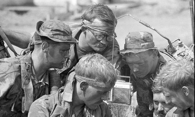 Listening to Chicken Man During Vietnam War