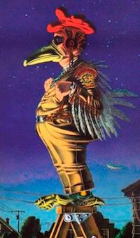 Chickenman Vietnam War Poster