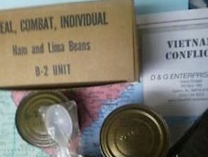 Vietnam War C Rations Ham and Mother's