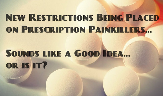 Hydrocodone restrictions