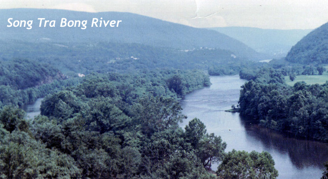 Song Bong River During Vietnam War