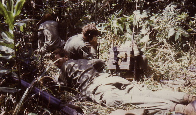 Radio pack in Vietnam War