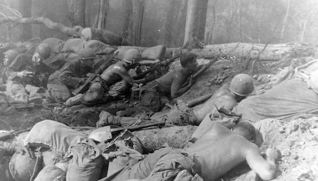Under Fire during Vietnam War