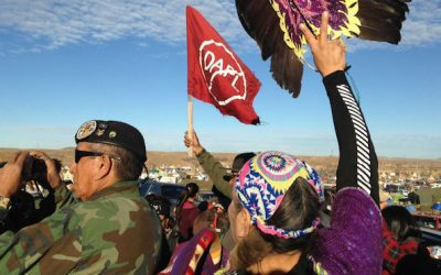 STANDING ROCK SIOUX PIPELINE VETERANS