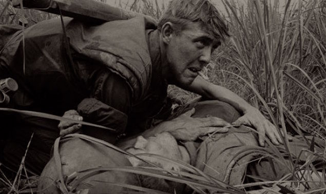 Wounded in Vietnam War