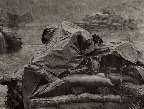 Vietnam War Monsoon Rain