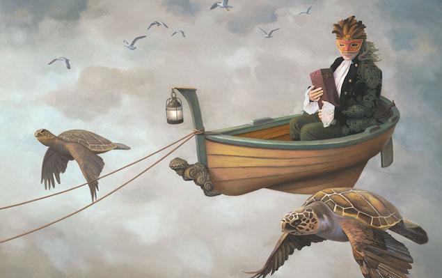 Flight of the Muse Paul Bond Artist