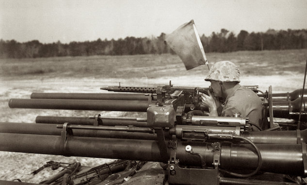 Ontos M-50 with 30 Caliber Browning Machine Gun