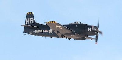 Marine Skyraider
