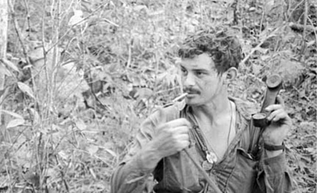 Section Commander Corporal Joe Danyluk of NSW, 1970