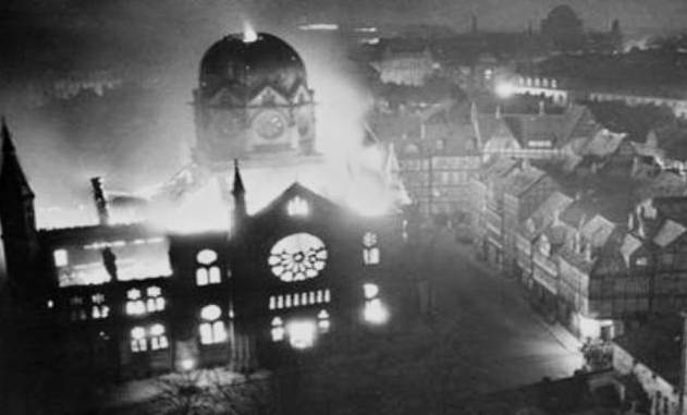 Kristallnacht emerging…….Editorial, August 16, 2107