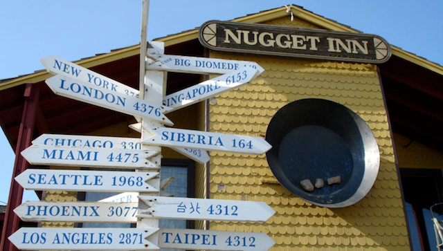 Nugget Inn, Nome Alaska