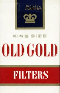 Old Gold Cigarettes
