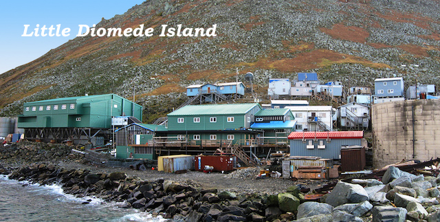 School Building on Little Diomede island