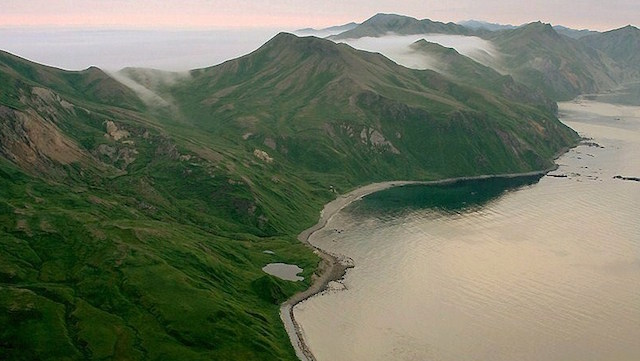 Island in the Bering Sea