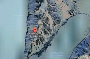 Provideniya Satellite map