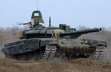 Russian T-72 Tank