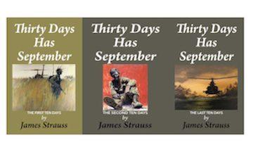 Thirty Days Has September Three Volume set