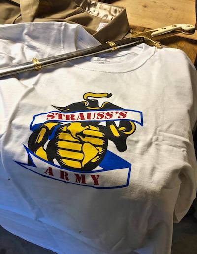 James Strauss's Army Tee-Shirts