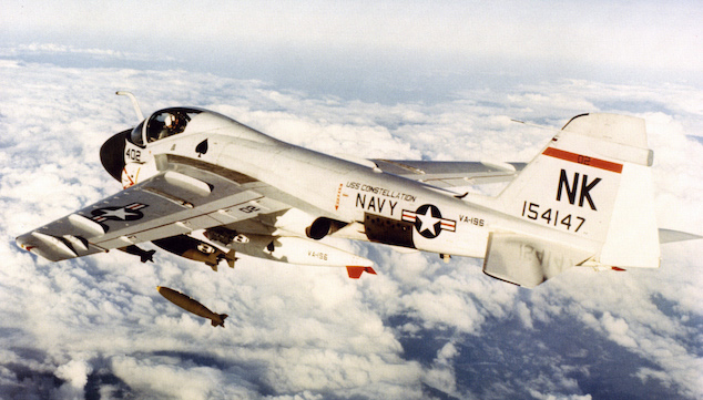 A-6 Invader over Vietnam
