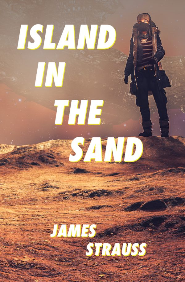Island In The Sand by James Strauss