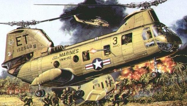 CH-46 Vietnam 30 Days Has September