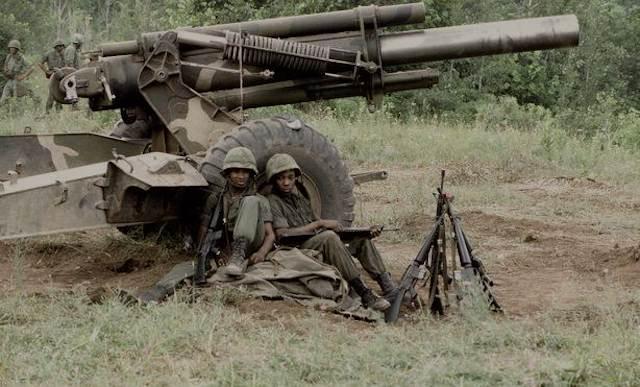M198 Howitzer Vietnam