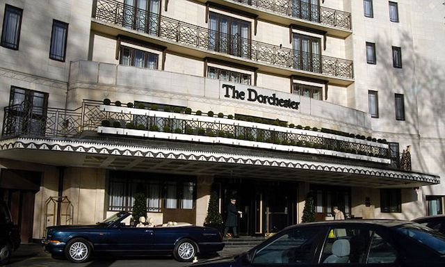 The Dorchester Hotel and a Shave…