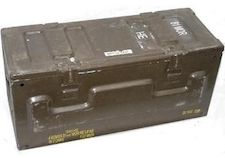 81mm Mortar ammo boxes