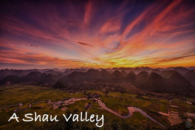 Sunrise A Shau Valley