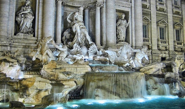 The Trevi Fountain, Arch Patton Short Story