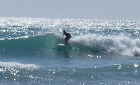 Queens Beach surf