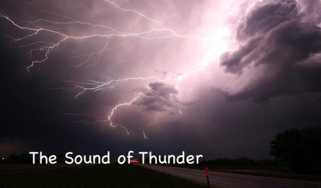 Coronavirus The Sound of Thunder