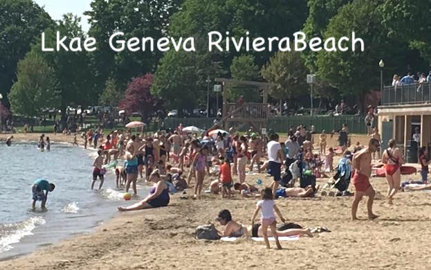 Lake Geneva Beaches Memorial Day 2020