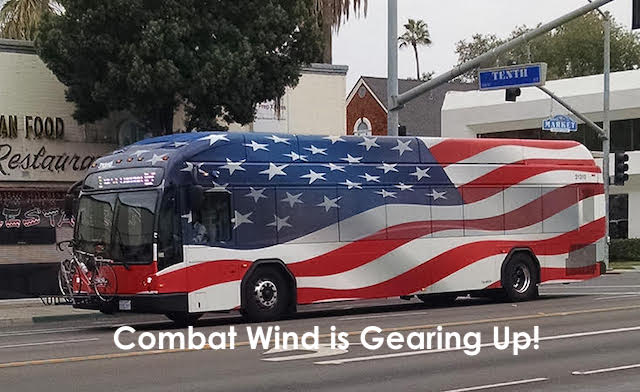 Combat Wind Tour Bus 2021